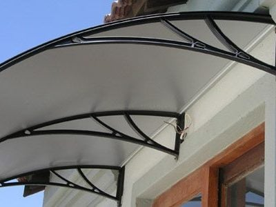 polycarbonate awning 2