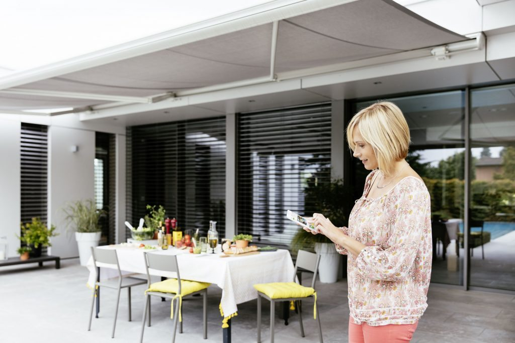 Somfy Motors - Folding Arm Awnings