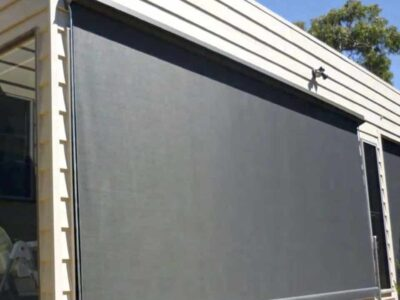 Fixed Guide Projection Awning banner
