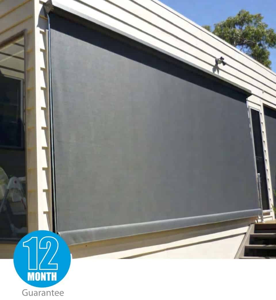 Fixed Guide Projection Awning